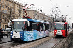 Олимпийский трамвай