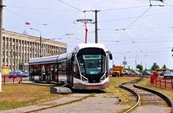 В Петергоф на трамвае