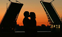 Медовый месяц в Санкт-Петербурге