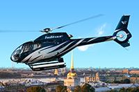 На вертолете над Петербургом