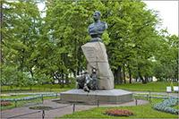 Петербург-памятник Пржевальскому