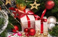 Подарки к Новому году и Рождеству в Питере