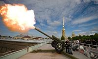 Полуденный выстрел в Санкт-петербурге