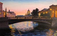 Романтиеские места для свиданий в Санкт-Петербурге