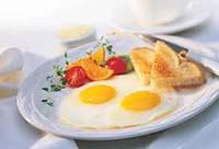 Сытные завтраки в петербургских кафе