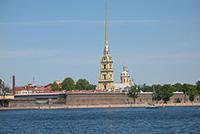 Трубецкой бастион в Петербурге