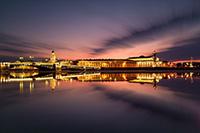 Вечер и ночь в Санкт-Петербурге